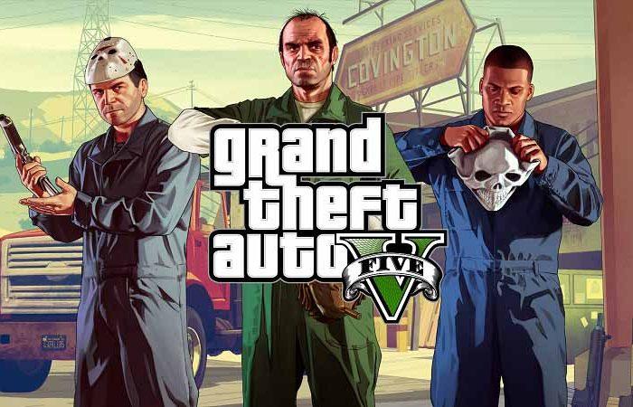 سی دی کی بازی GTA V (اورجینال - Social Club)