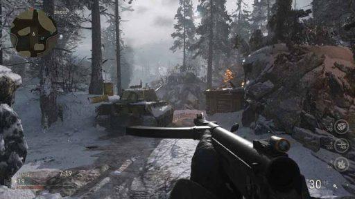 سی دی کی بازی Call of Duty WW2 (اورجینال)