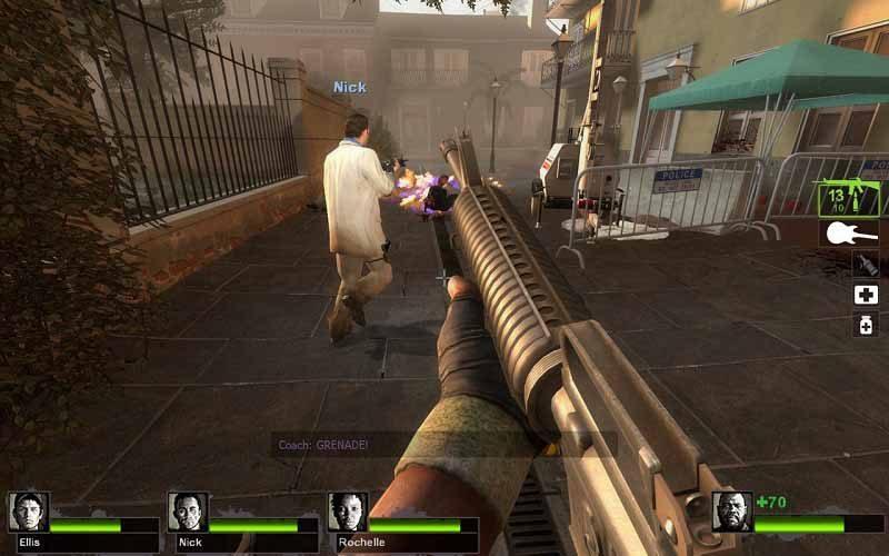 سی دی کی اورجینال بازی Left 4 Dead 2