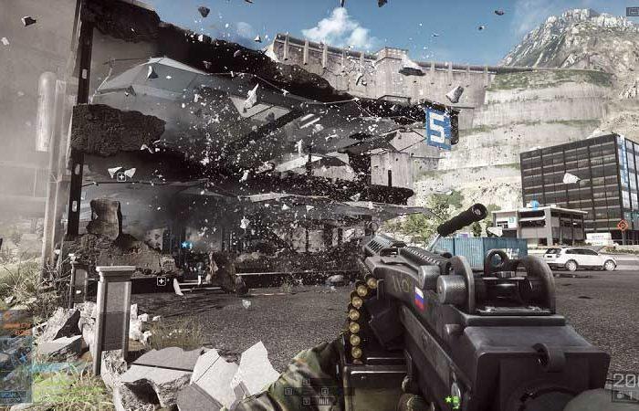 سی دی کی بازی Battlefield 4 اورجینال