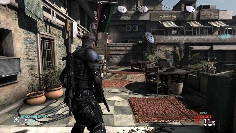 سی دی کی بازی Tom Clancy's Splinter Cell Blacklist اورجینال