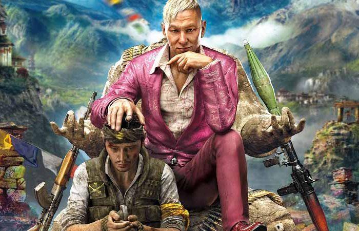 سی دی کی بازی Far Cry 4 - فارکرای 4