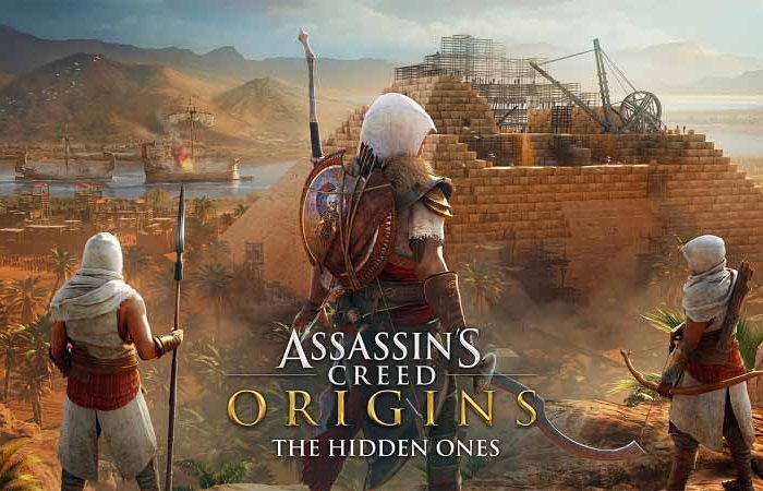 دی ال سی Assassins Creed Origins Hidden Ones DLC