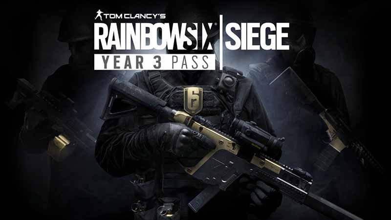 سی دی کی Rainbow Six Siege Season Pass Year 3