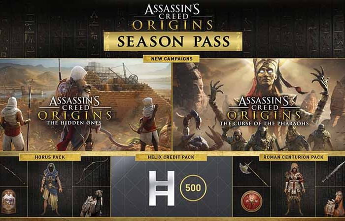 سی دی کی Assassin's Creed Origins Season Pass
