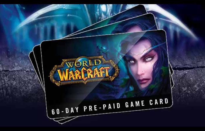 تایم کارتWorld of Warcraft 60 Day Time Card (شصت روزه)