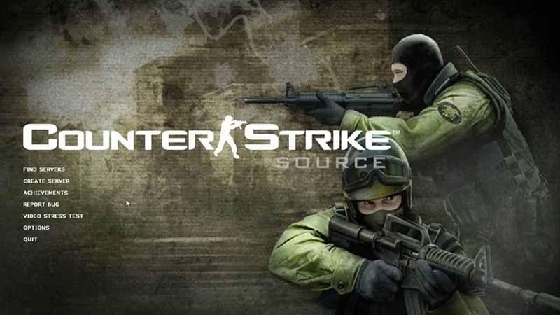 سی دی کی اورجینال Counter Strike Source