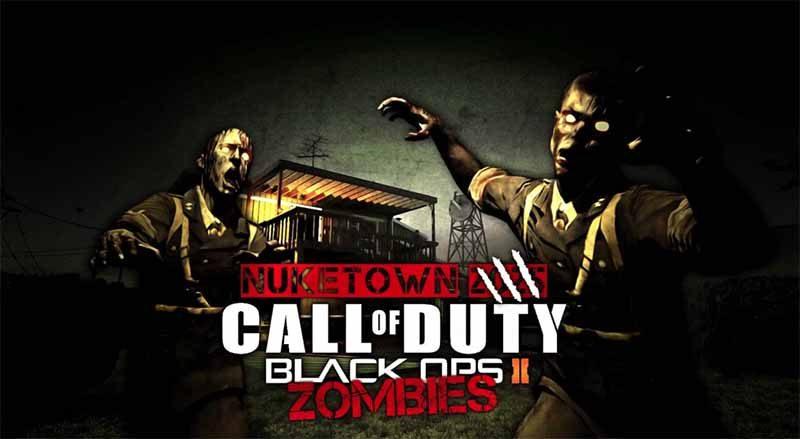 سی دی کی اورجینال Call of Duty Black Ops 2 + Nuketown Zombies