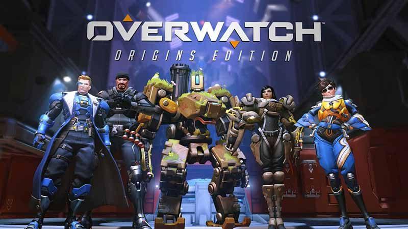 سی دی کی اورجینال Overwatch - Origins Edition
