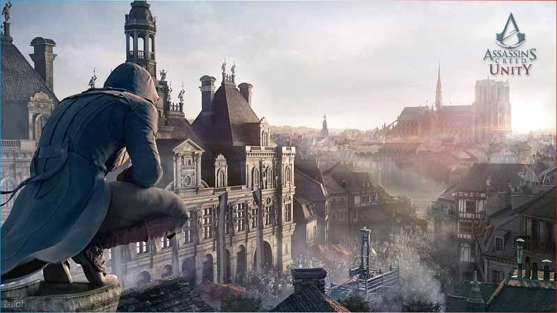 سی دی کی بازی Assassins Creed Unity اورجینال