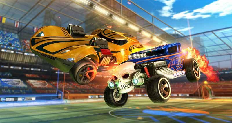 سی دی کی بازی Rocket League اورجینال