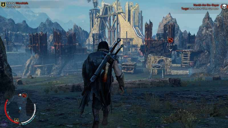 سی دی کی اورجینال بازی Middle-Earth: Shadow of Mordor