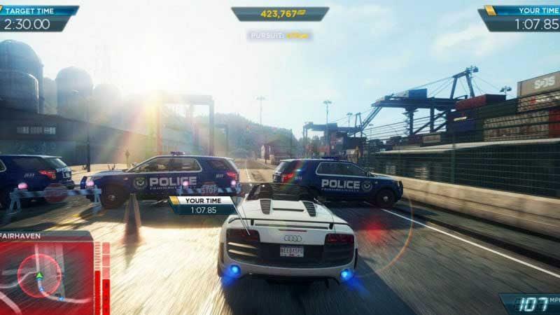 سی دی کی اورجینال Need for Speed: Most Wanted