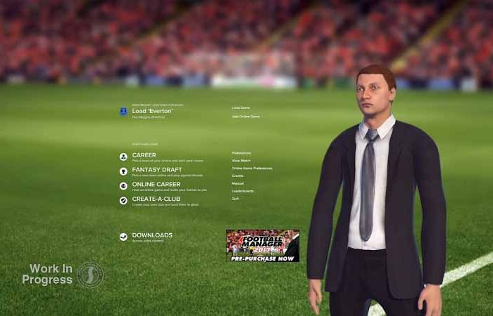 سی دی کی بازی Football Manager 2018 اورجینال