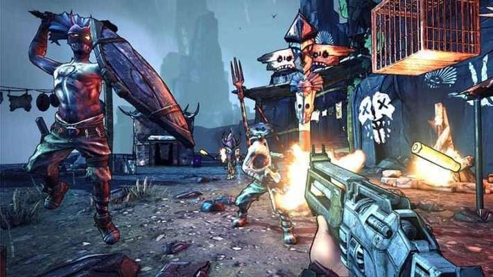 سی دی کی بازی Borderlands 2 اورجینال