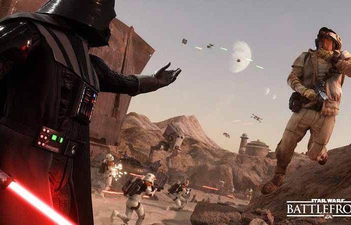 سی دی کی بازی Star Wars Battlefront اورجینال