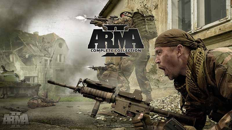 سی دی کی اورجینال Arma 2 Complete Collection
