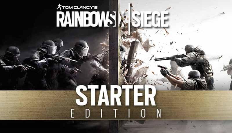 سی دی کی اورجینال Rainbow Six Siege Starter Edition