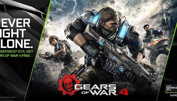 سی دی کی اورجینال Gear of War 4