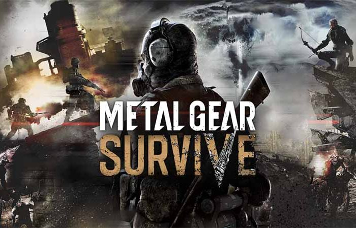 سی دی کی اورجینال Metal Gear Survive