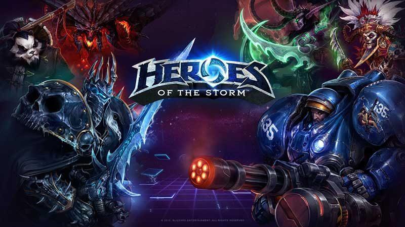 سی دی کی اورجینال Heroes of the Storm Starter Pack