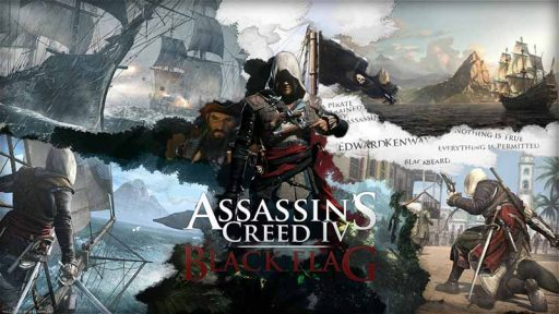 سی دی کی اورجینال Assassin's Creed IV Black Flag
