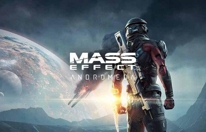 سی دی کی اورجینال Mass Effect Andromeda