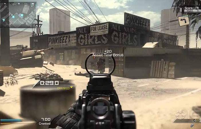 سی دی کی اورجینال Call of Duty Ghosts