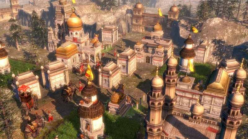 سی دی کی اورجینال Age of Empires 3 Complete Collection