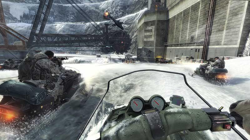 سی دی کی اورجینال Call of Duty Modern Warfare 3