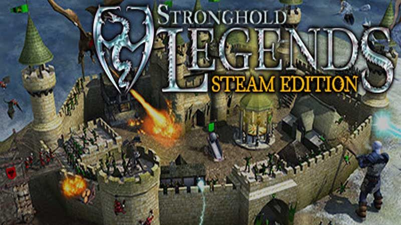 سی دی کی اورجینال Stronghold Legends