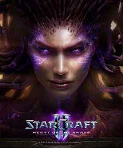 سی دی کی اورجینال StarCraft 2 Heart of Swarm