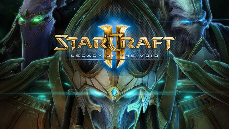 سی دی کی اورجینال StarCraft 2 Legacy of the Void