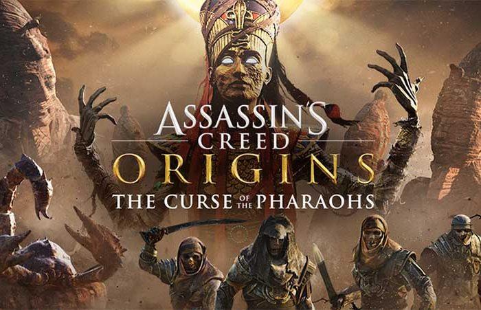 دی ال سی Assassins Creed Origins The Curse Of The Pharaohs