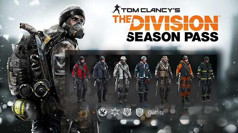 سی دی کی Tom Clancy's The Division Season Pass