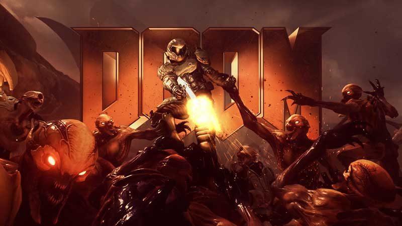 سی دی کی اورجینال بازی Doom