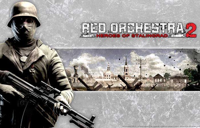 سی دی کی اورجینال Red Orchestra 2 Heroes of Stalingrad with Rising Storm