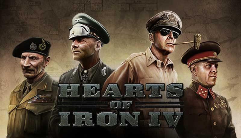 سی دی کی اورجینال Hearts of Iron IV