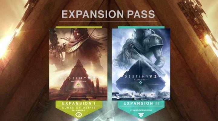 سی دی کی اکسپنشن Destiny 2 Expansion Pass DLC