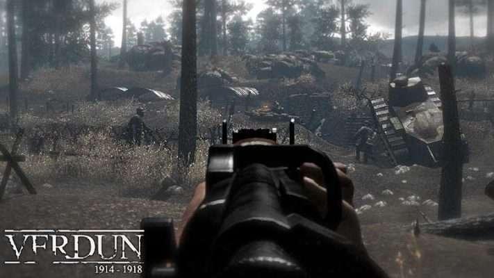 سی دی کی اورجینال بازی Verdun