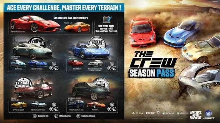 سی دی کی The Crew Season Pass (سیزن پس بازی)