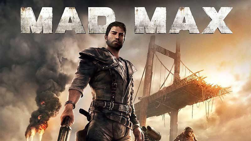 سی دی کی اورجینال بازی Mad Max