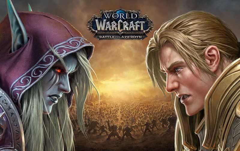 سی دی کی اورجینال World of Warcraft Battle for Azeroth