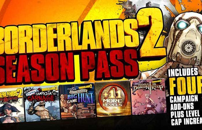 سی دی کی Borderlands 2 Season Pass (سیزن پس)