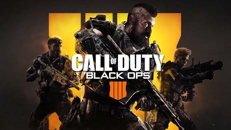 سی دی کی اورجینال Call of Duty Black Ops 4