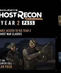 سی دی کی Tom Clancy's Ghost Recon Wildlands Year 2 Pass