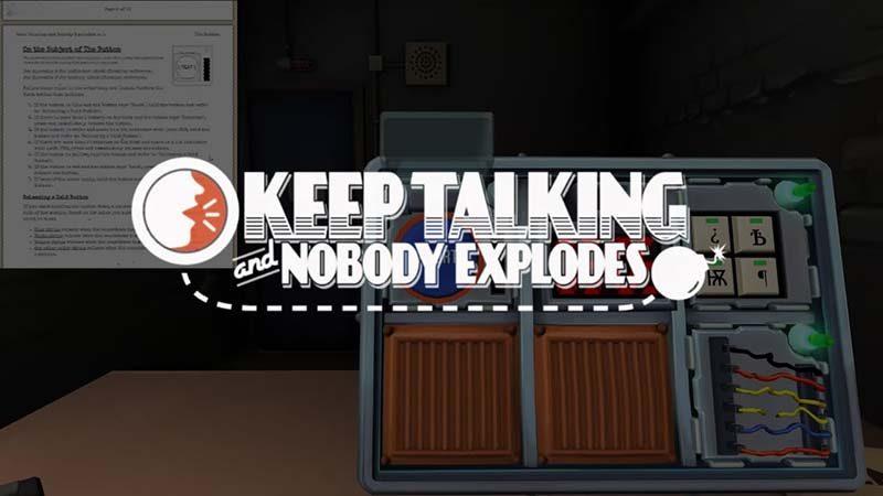 سی دی کی اورجینال Keep Talking and Nobody Explodes