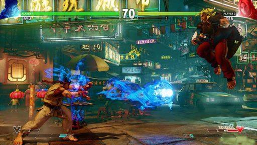 سی دی کی اورجینال بازی Street Fighter V