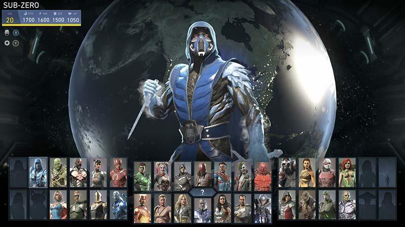 سی دی کی اورجینال بازی Injustice 2