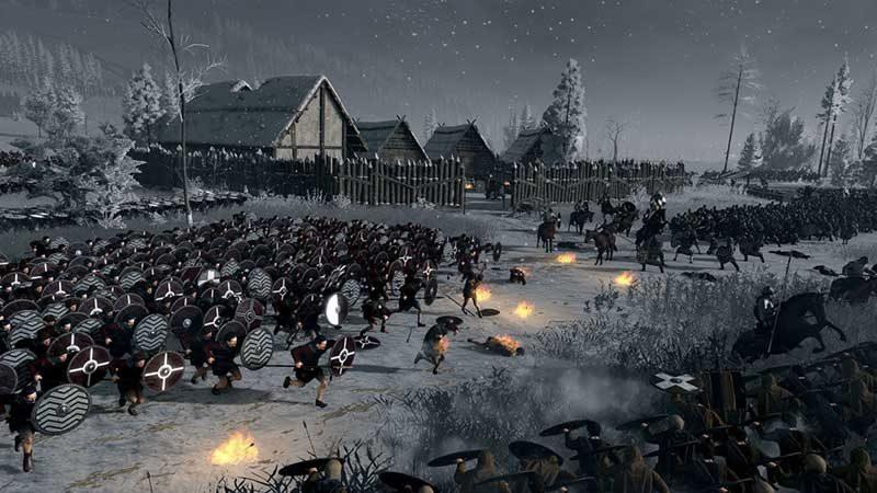 سی دی کی اورجینال Total War Saga Thrones of Britannia